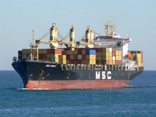 MSC Chiara Valencia 14-11-2007